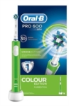 Oral B Linea Igiene Dentale Quotidiana Pro 600 CrossAction Spazzolino Verde