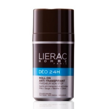 Lierac Homme Linea Detersione Deodorante 24H Roll-On Anti-Traspirante 50 ml